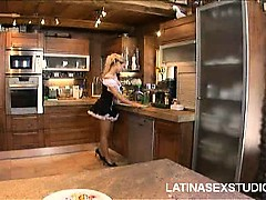 Dirty Latina Maid