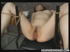 Japanese slave gets pussy...